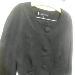 Anne Klein short black jacket